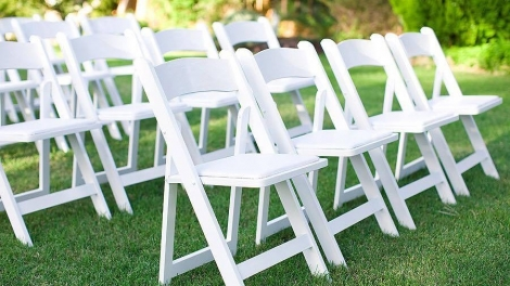 Wedding furniture for rent in Corfu - Ceremony